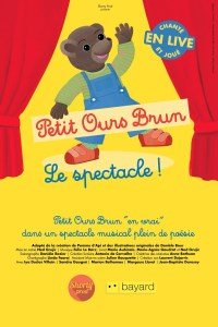 petit ours brun, le spectacle