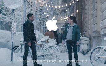 Musique de la pub de Noël 2017 Apple avec l'iPhone X et les AirPods