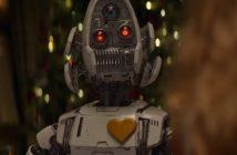 pub de Noël 2017 Edeka avec un robot