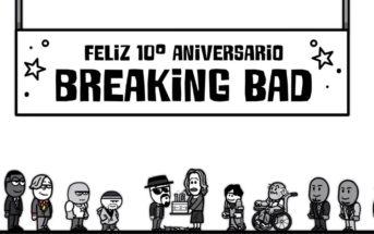Cette animation résume la série Breaking Bad en 1mn pour ses 10 ans