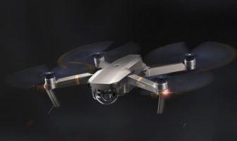 Le drone DJI Mavic Pro Platinum en promo