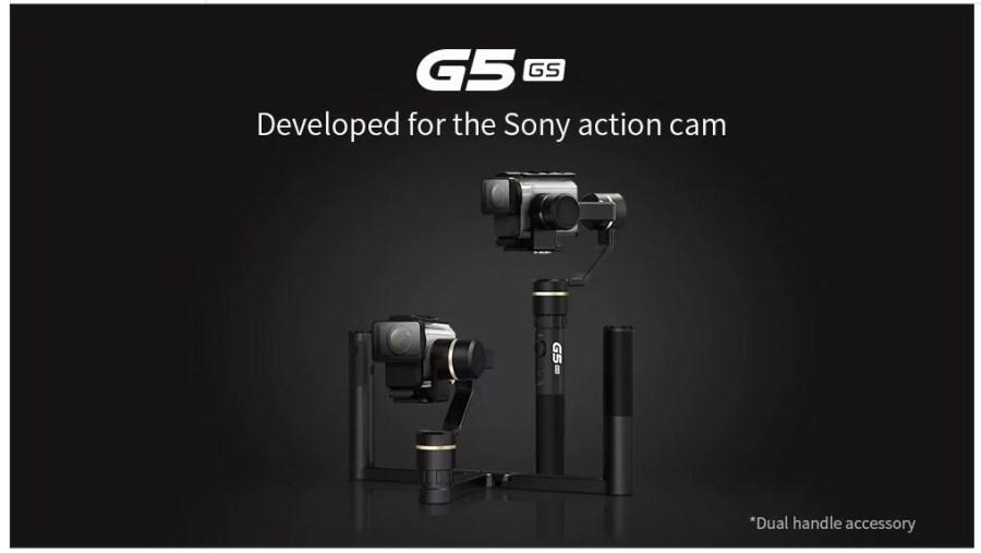 FeiyuTech G5GS sony cam