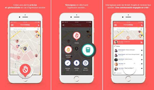 HandsAway, l'application conte les agressions sexistes et sexuelles
