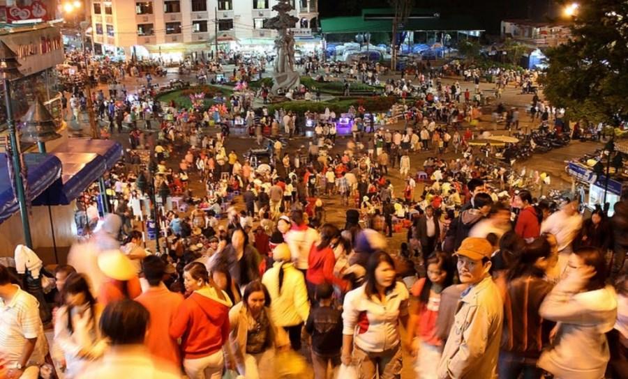 Marche de nuit à Da Lat - Vietnam