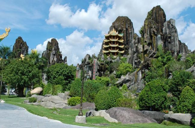 montagne de marbre Ban Co à Da Nang - Vietnam