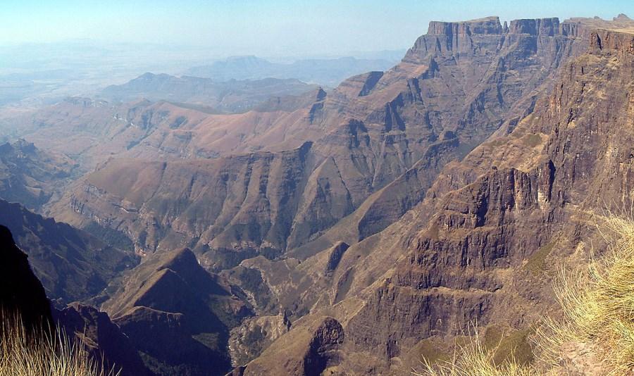 Le parc du Drakensberg en Afrique du Sud