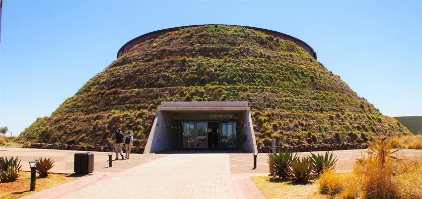 Le sites des hominidés fossiles d'Afrique du Sud