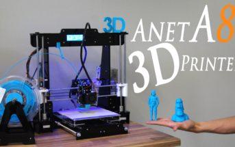 🔥 Soldes : l'imprimante 3D Anet A8 + filament de 10m en promo à 105€