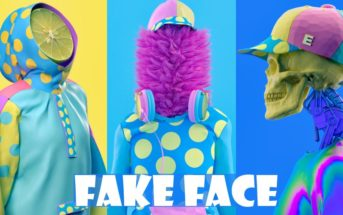 Fake Face : les portraits pop surréalistes et colorés de Kota Yamaji