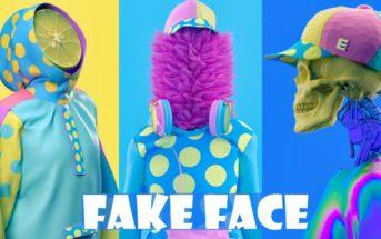 Fake Face : les portraits pop surréalistes et colorés de Kota Yamaji