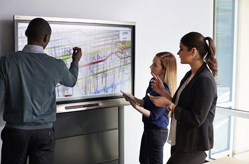 écran interactif réunion