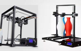 Code promo : l'imprimante 3D Tronxy X3S à 215€ et X5S à 232€ !