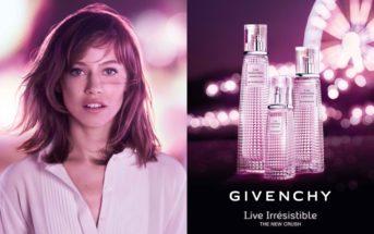 Mannequin et musique de la pub Givenchy Live Irresistible 2018