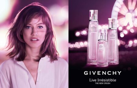pub 2018 du parfum Givenchy Live Irresistible Blossom Crush