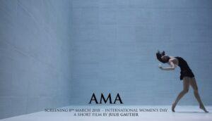 AMA : la danse en apnée poétique de Julie Gautier