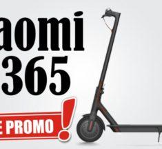 Promo de Noël : la trottinette électrique Xiaomi M365 Europe à 355€