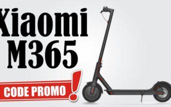  Promo juin : la trottinette électrique Xiaomi M365 à 358€ (entrepôt FR)