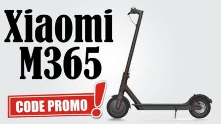 Code promo Gearbest sur la trottinette électrique Xiaomi M365 version Europe