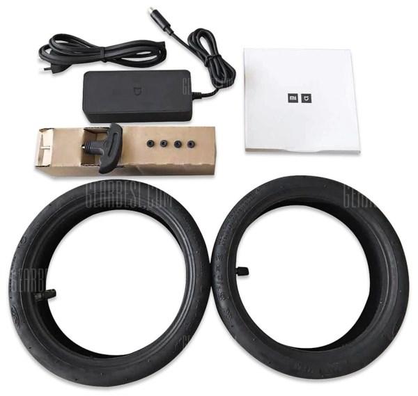Xiaomi m365 europe version accessoires