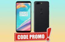 oneplus 5t : code promo