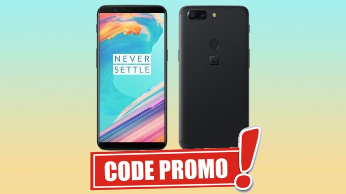 code promo le smartphone oneplus 5t en r duction 375. Black Bedroom Furniture Sets. Home Design Ideas