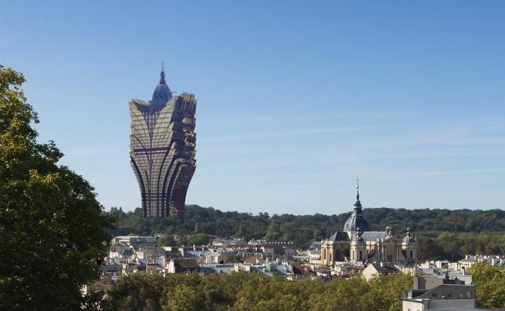 Poisson d'avril : L'Épi de Versailles : un hôtel-casino au cœur du bois Saint-Martin