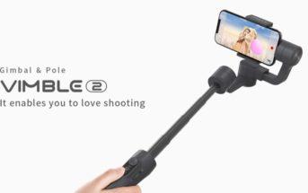 FeiyuTech Vimble 2 : le stabilisateur pour smartphone en promo à 82€