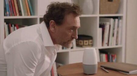 Jean-Paul Rouve parodie l'enceinte Google pour Burger Quiz
