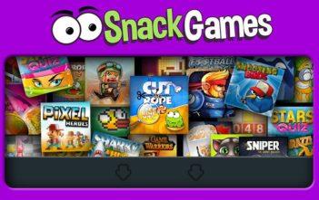 Snack Games : jeux mobile