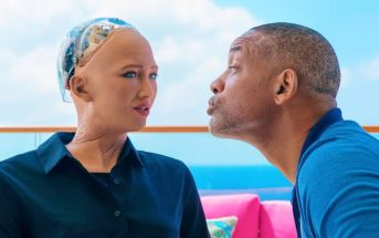 Will Smith drague le robot humanoïde Sophia et se prend un râteau