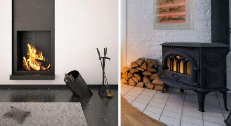 poêle vs cheminée