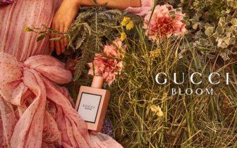 Mannequins et musique de la pub Gucci Bloom 2018