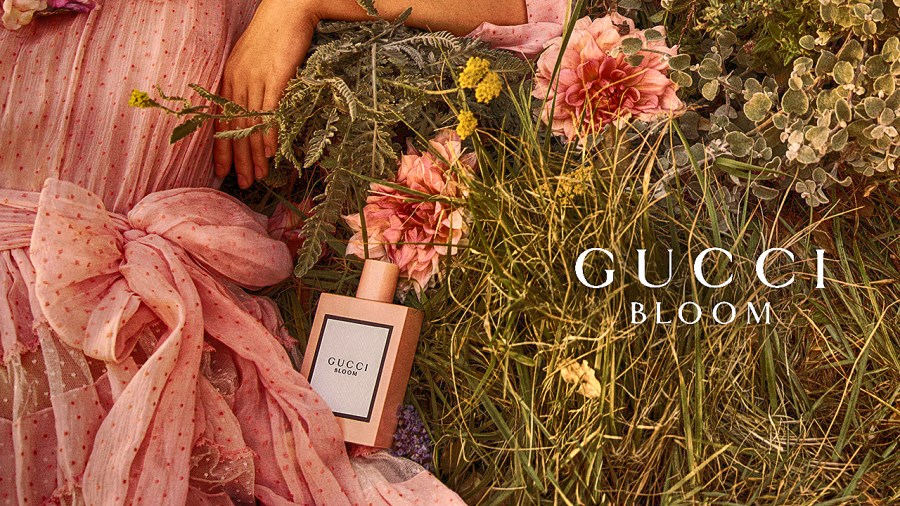 Pub du parfum Gucci Bloom 2018