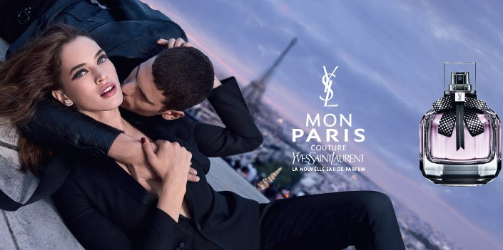 Pub Yves Saint Laurent Mon Paris 2018 - YSL