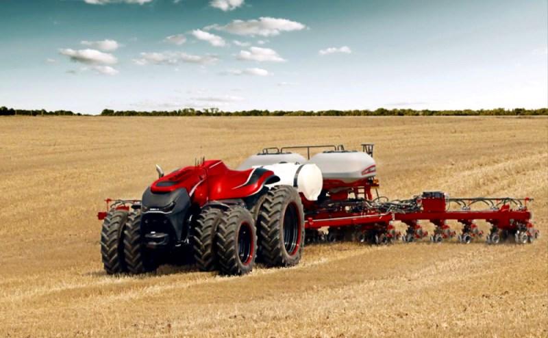 tracteur autonome sans cabine