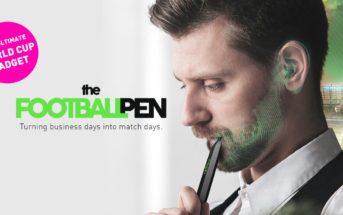 FootballPen : un stylo pour écouter les matchs de foot discrètement au travail