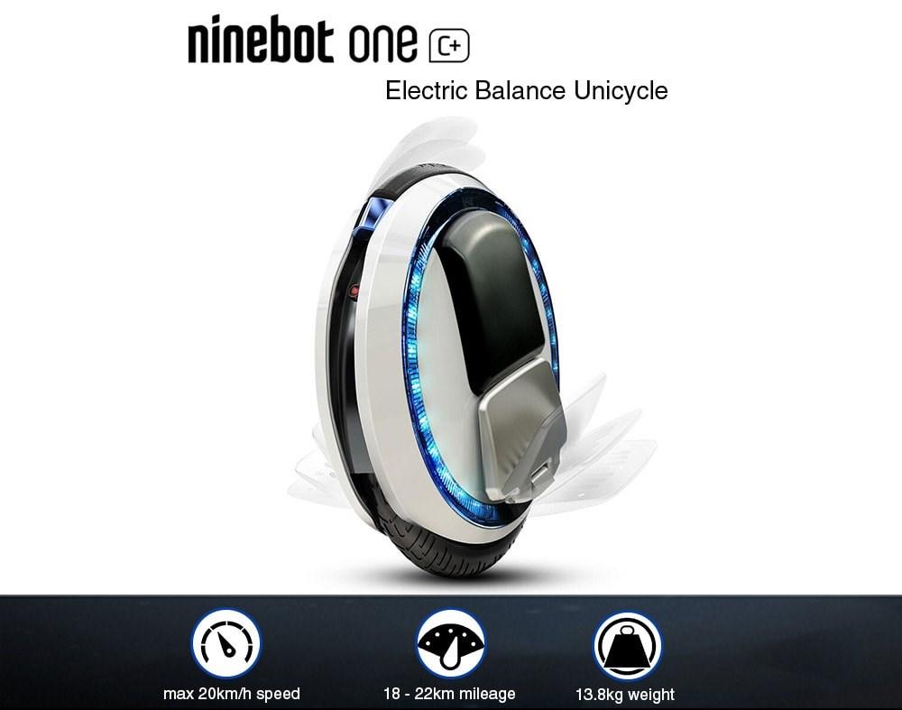 Gyroroue Ninebot One C+ specs