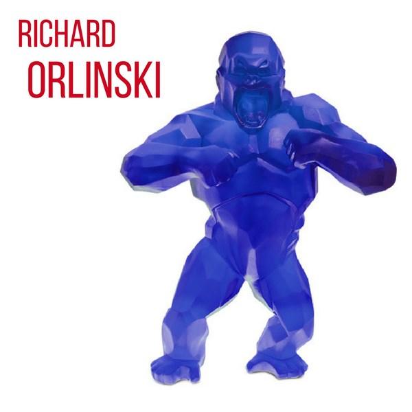 Le célèbre Wild Kong de Richard Orlinski en pâte de cristal