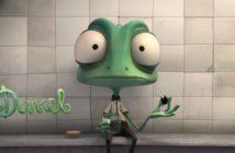 darrel : court-métrage d'animation sur un caméléon