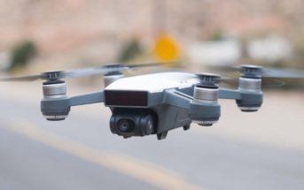 Code promo : le mini drone DJI Spark à 283€ et le Tello à 81€