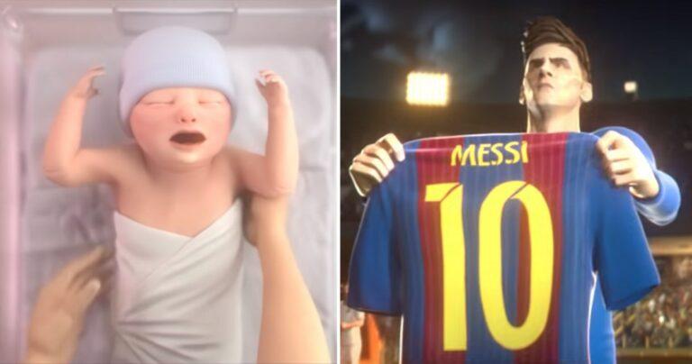 pub d'animation Gatorade sur la vie de Lionel Messipub d'animation Gatorade sur la vie de Lionel Messi