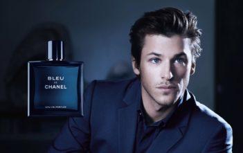 Pub du parfum Bleu de Chanel 2018 avec Gaspard Ulliel