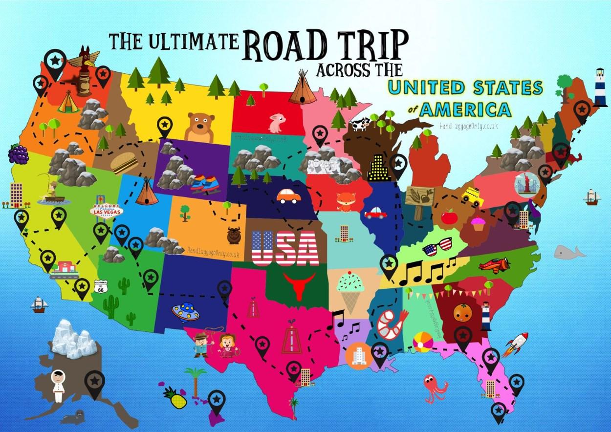 Voyage road-trip aux USA - Etats-Unis d'Amérique