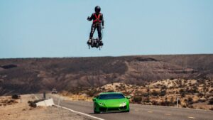 Flyboard Air vs Lamborghini