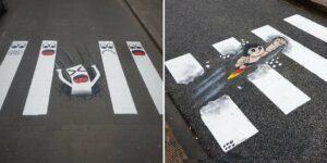 OakOak : street-art sur passages piétons