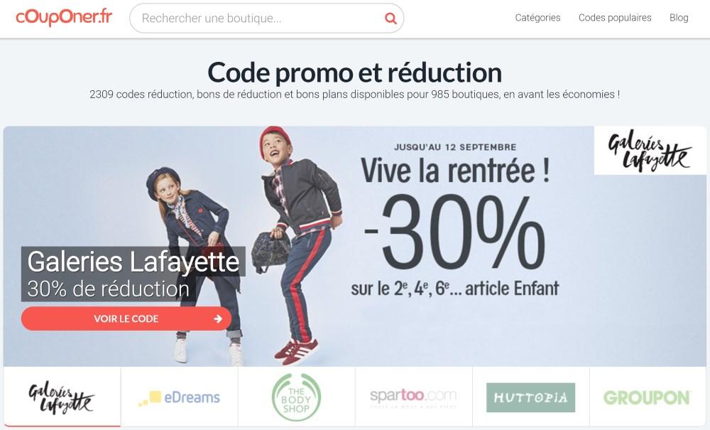 Couponer.fr : code-promo et réduction