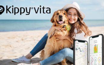 Kippy Vita : un tacker GPS pour ne plus perdre vos chiens et chats