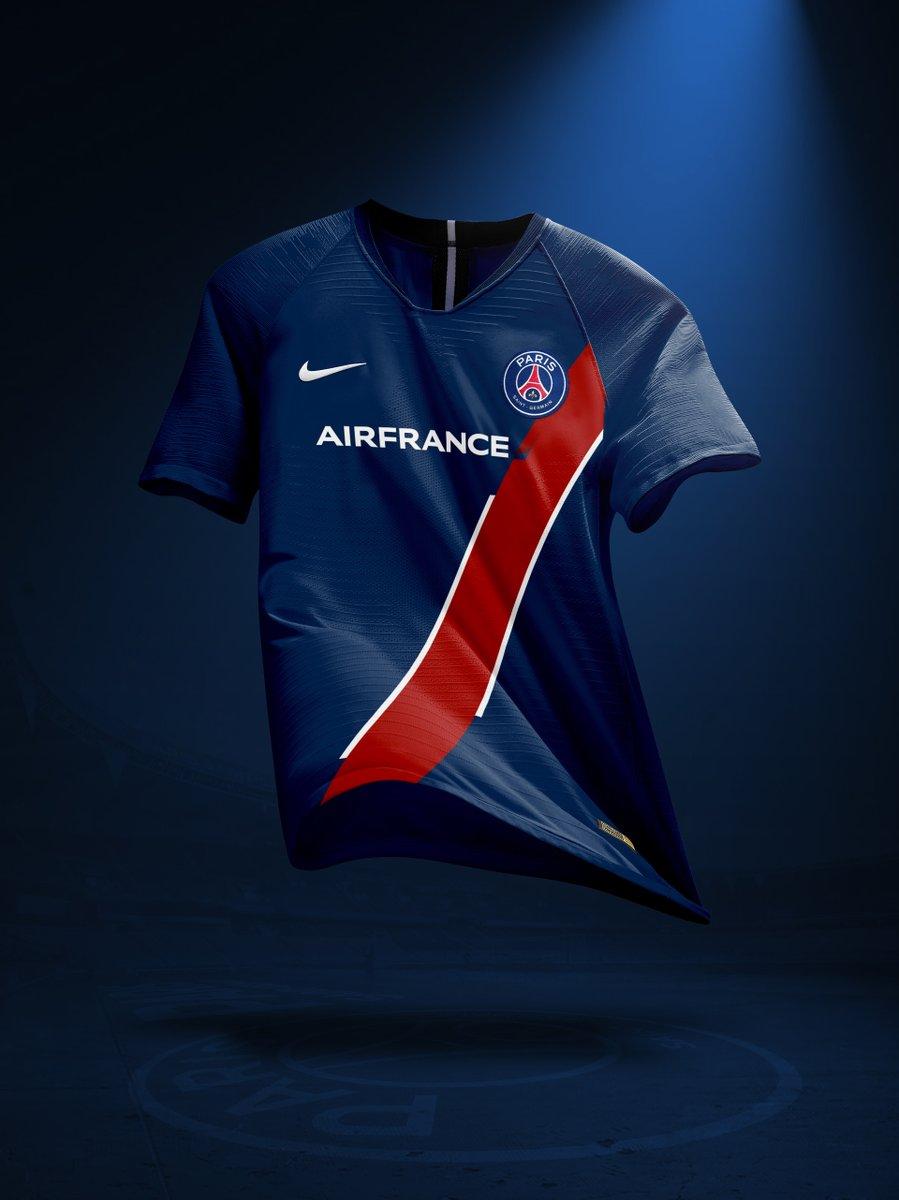Nouveau sponsor maillot du PSG : Air France