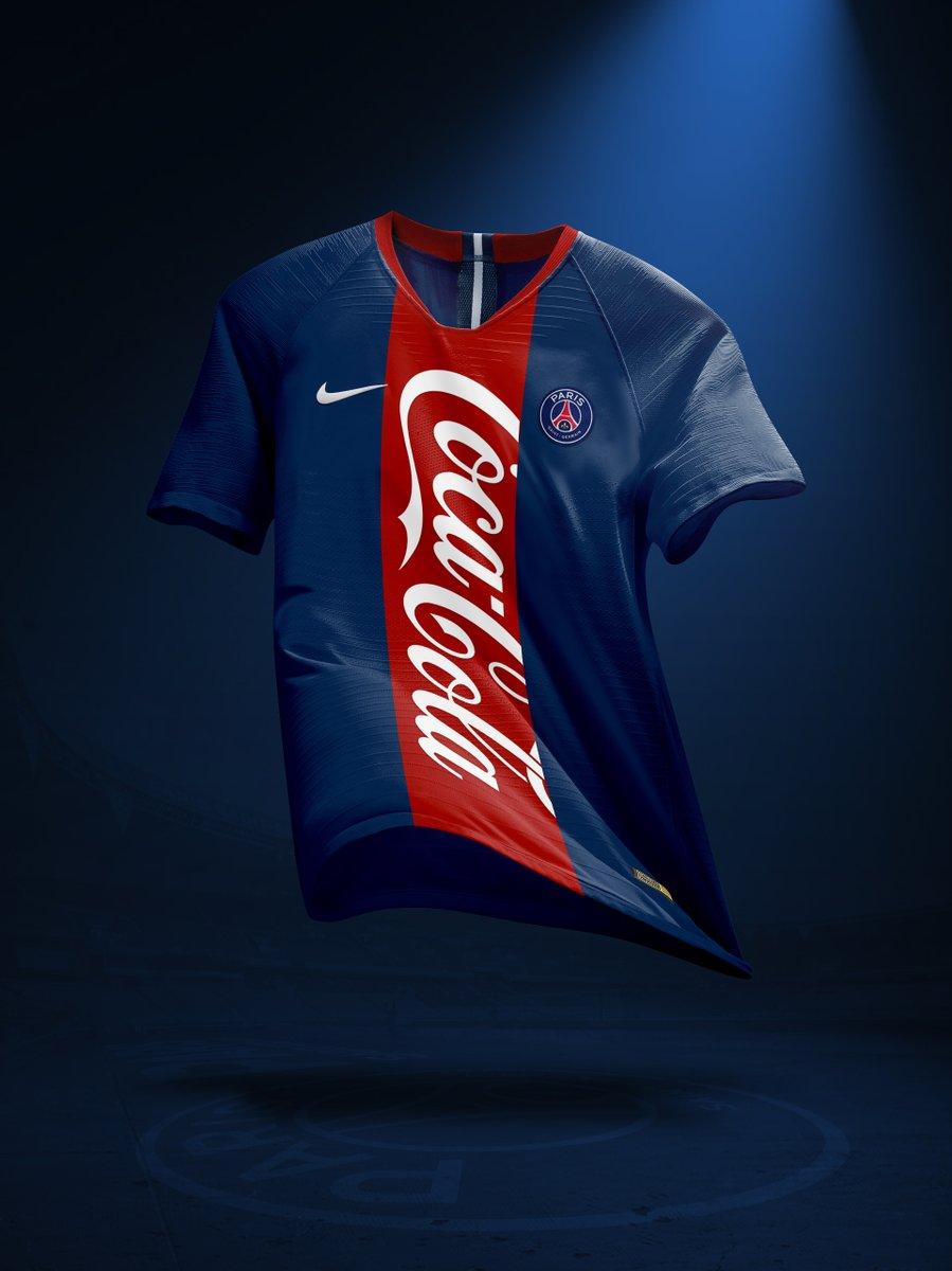 Nouveau sponsor maillot du PSG : Coca-Cola