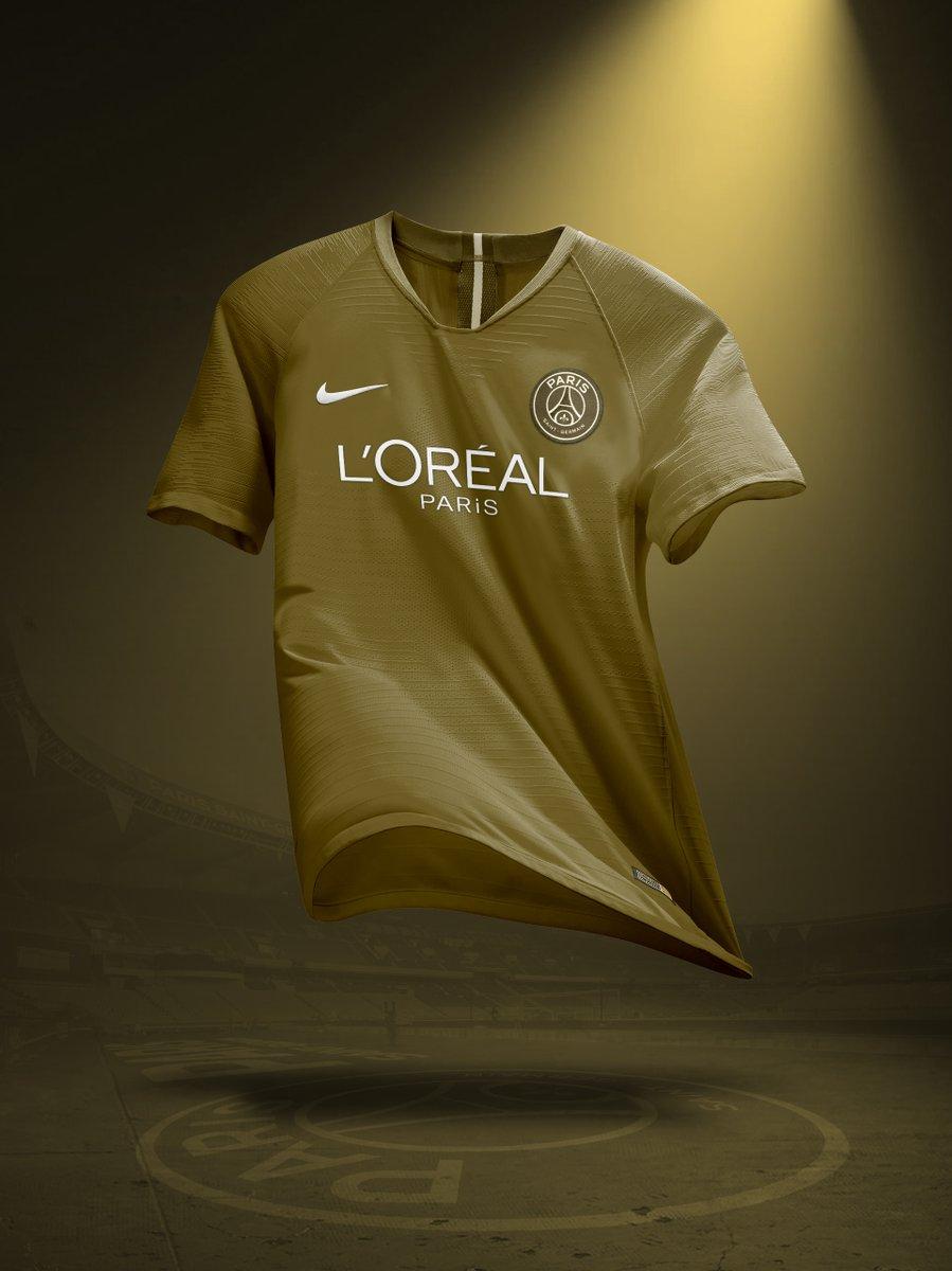 Nouveau sponsor maillot du PSG : L'Oréal Paris